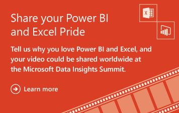 Share your Power BI and Excel Pride