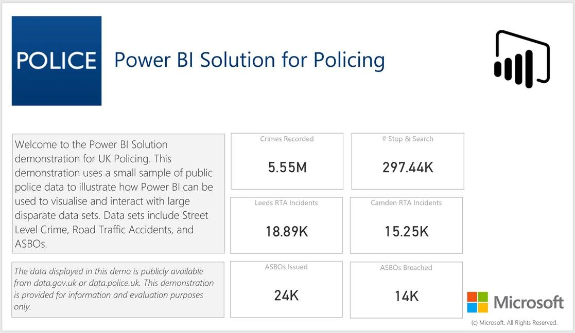 UK Public Sector Police Services