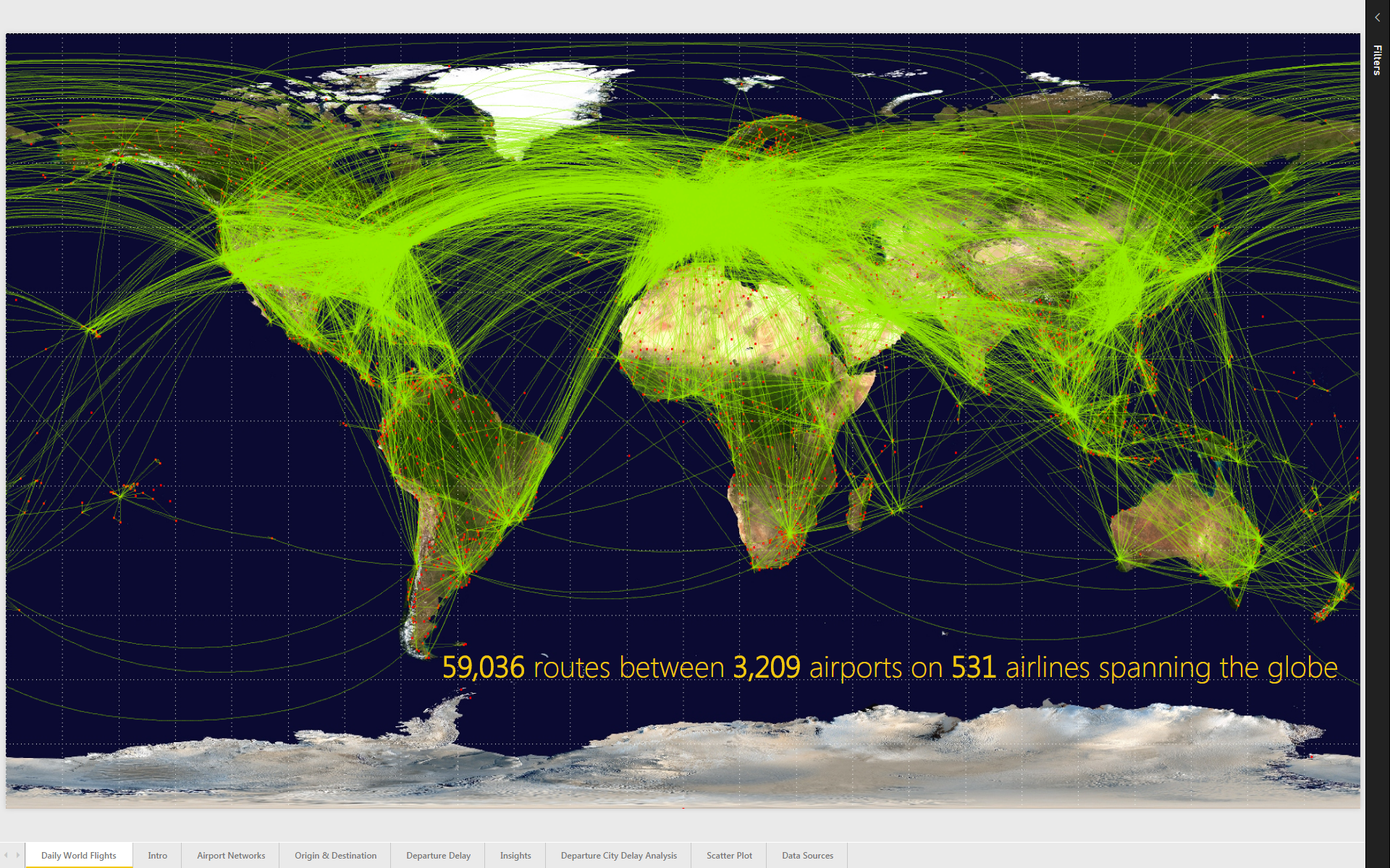 Provide Insights into the Flight Departure Delays of US Airlines - Dec 2015