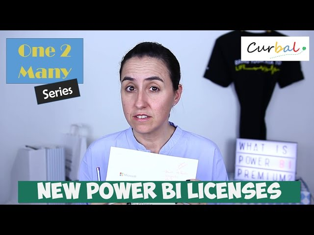 Power BI Premium, Pro and Free Licenses explained