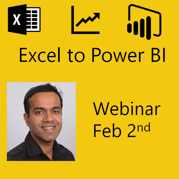 Excel to Power BI: Webinar by Avi Singh