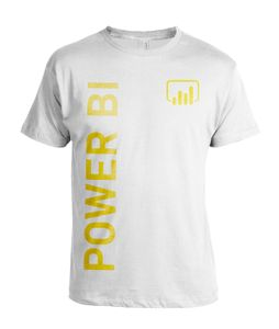 Power BI Big Logo - White