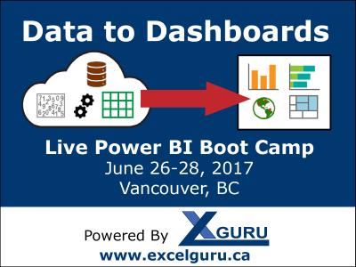 Vancouver Power BI Boot Camp