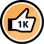 1000 Kudos Received