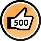 500 Kudos Received