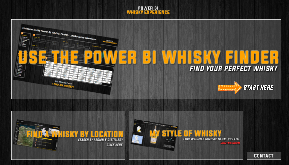 The Power BI Whisky Experience