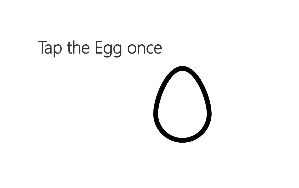 Tap the Egg!