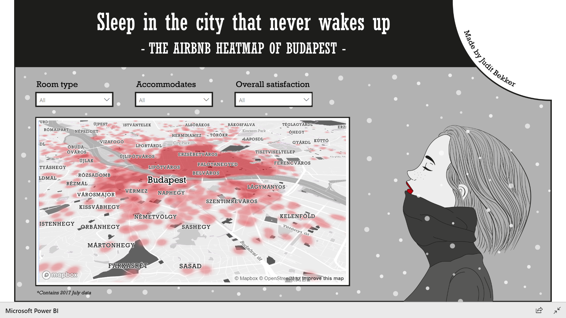 Who wants to sleep in the city that never wakes up? - The airbnb map of Budapest