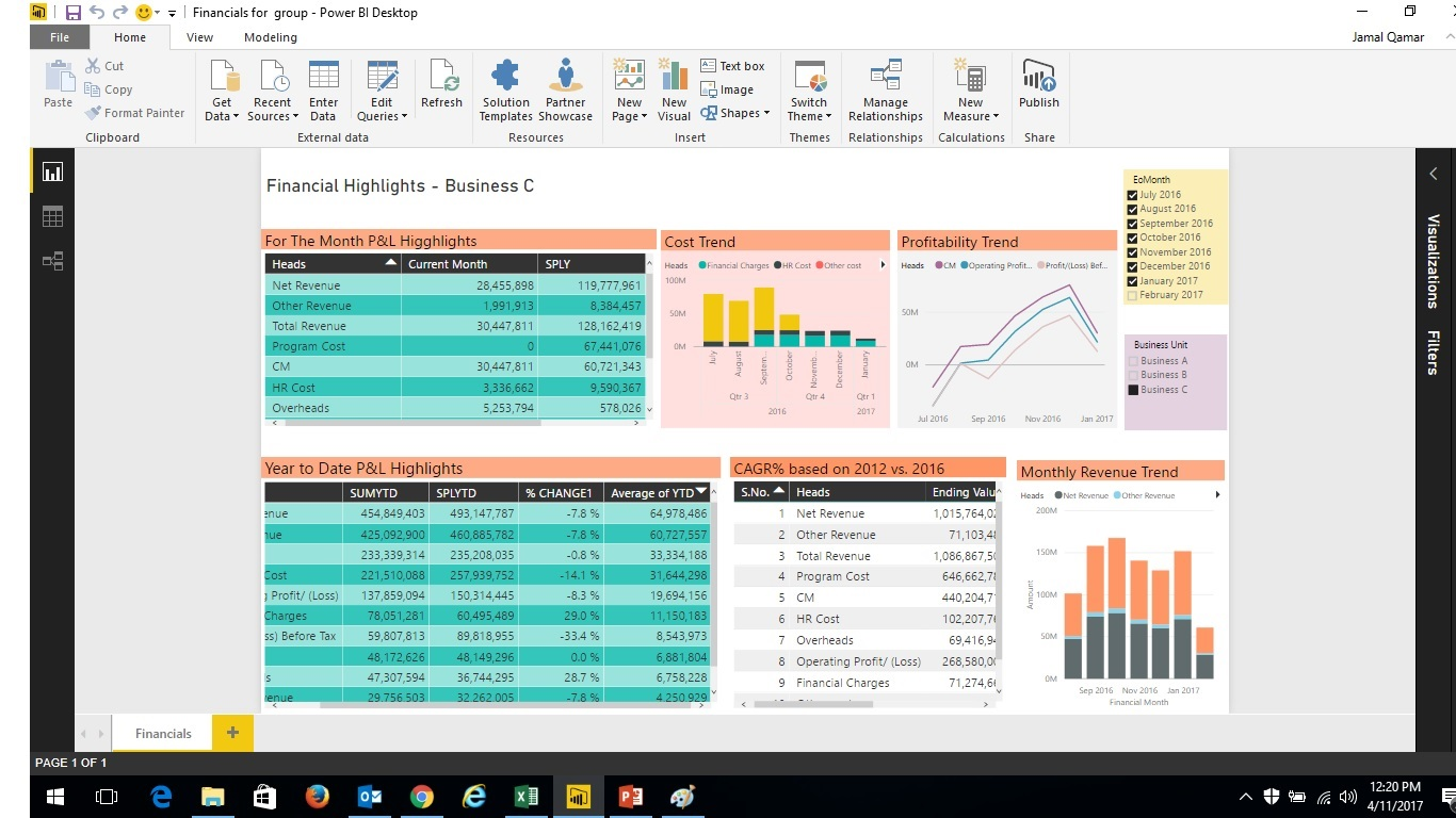 AUTOMATED FINANCIAL STATEMENTS ANALYSIS