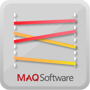 Slope Chart by MAQ Software