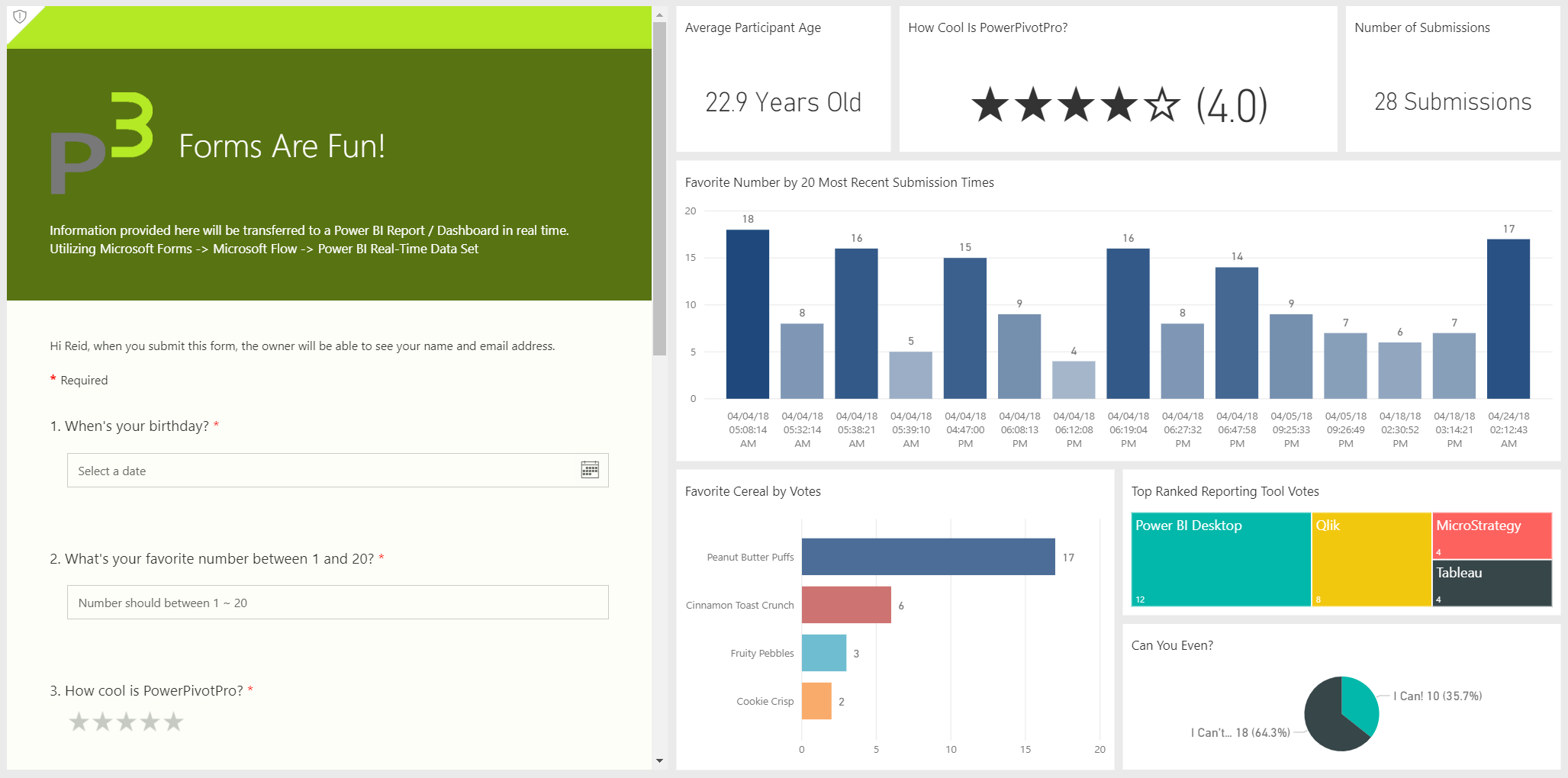 How to Create A Real Time Dataset on Power BI.com