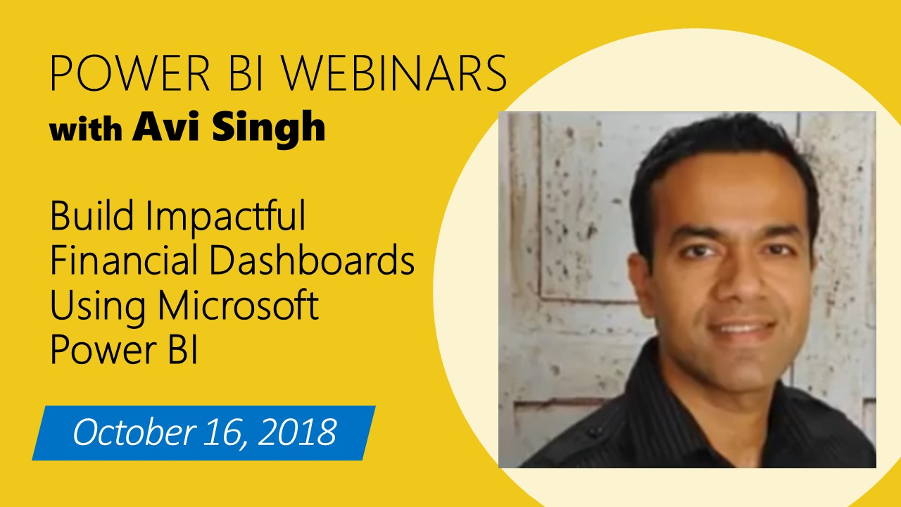 Build Impactful Financial Dashboards Using Microsoft Power BI