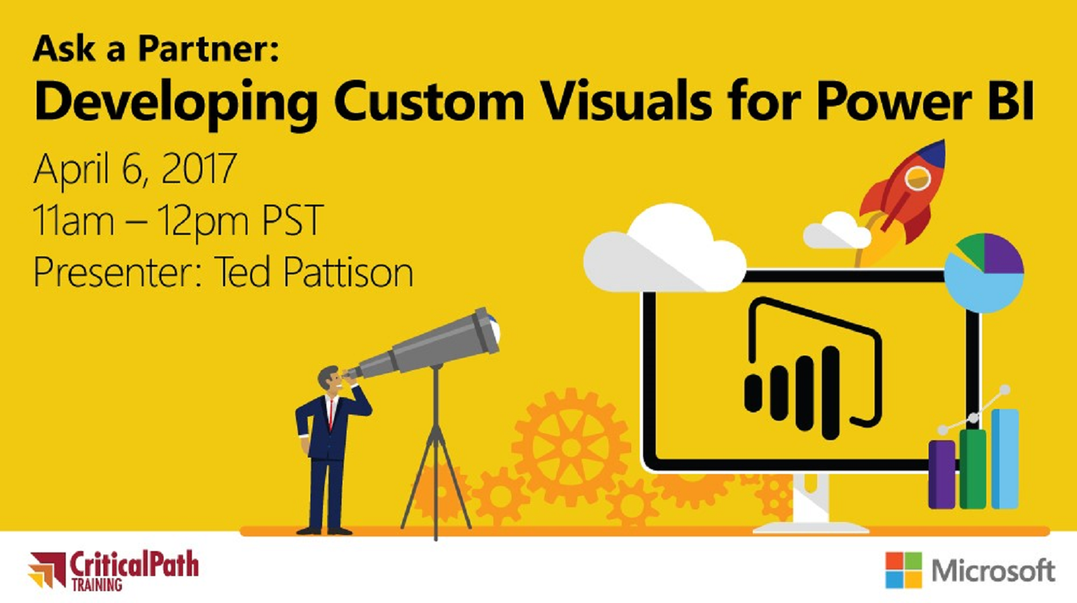 Ask a Partner: Developing Custom Visuals for Power BI