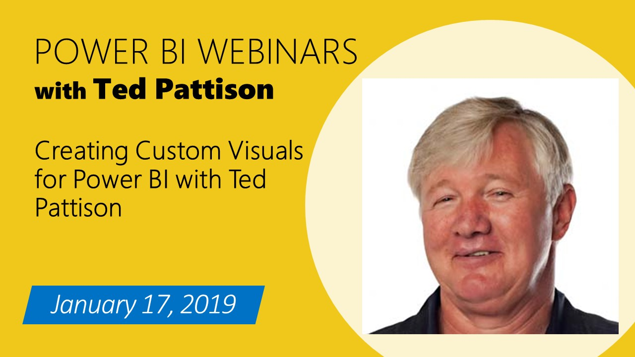 Creating Custom Visuals for Power BI with Ted Pattison