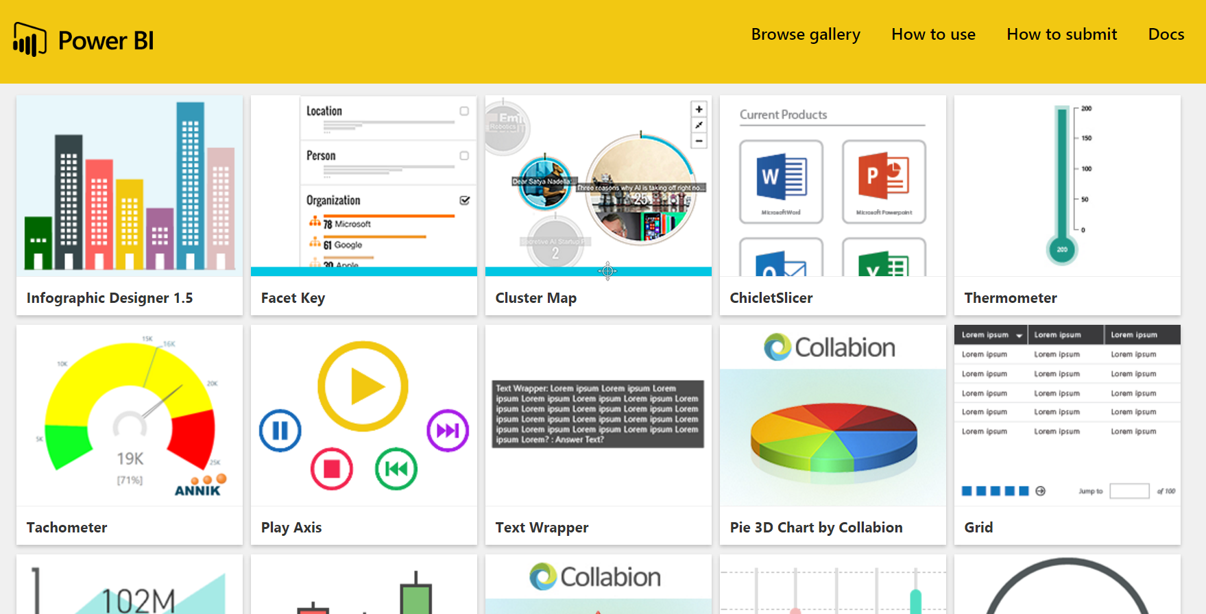 create infographics in power bi - microsoft power bi community