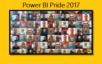Power BI Pride 2017:  Share your pride with the world!