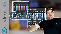 Better use of Colors in Power BI with Themes