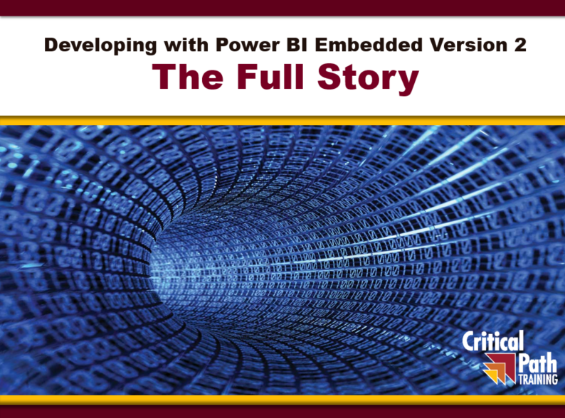 Power BI Embedding Version 2 – The Full Story