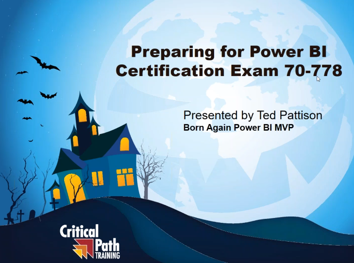 Preparing for Power BI Certification Exam 70-778: Level 1