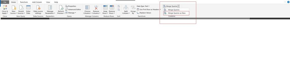 Click on Edit Queries Which will take you to Power Query Mode