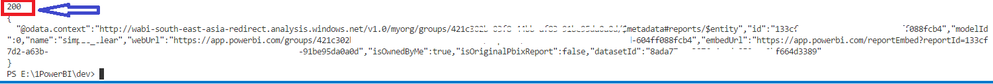 Get Reports REST api not working - Showing 400 Bad Request.png