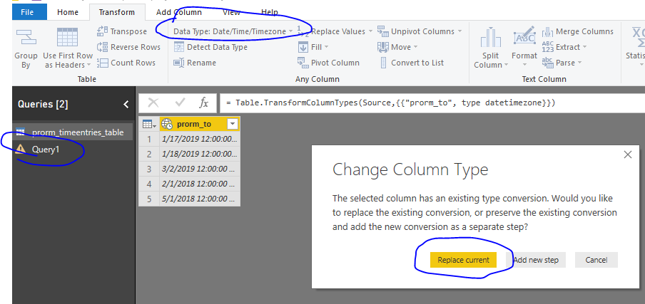 Today's date in power query - Microsoft Power BI Community