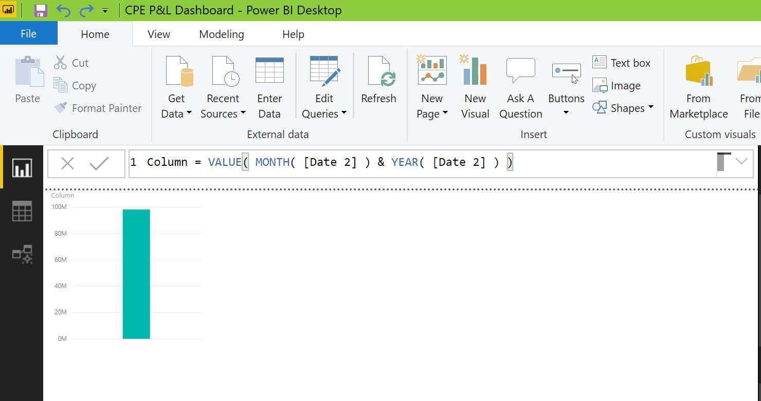 Calculate year-to-date values-Power BI Tips - Data Bear