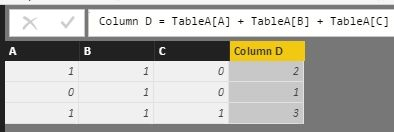 How do i calculate sum of three rows for each rows with different values_1.jpg