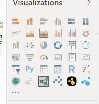 I imported some custom visuals but it doesn't meet my need