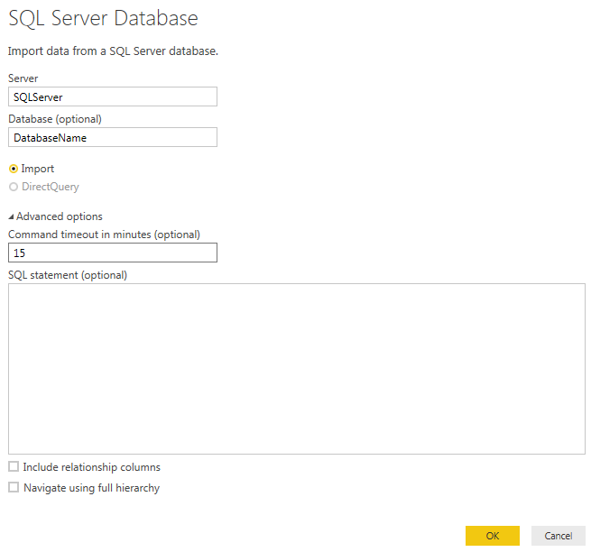 Power BI - SQL Server Database Screen with Command Timeout.png