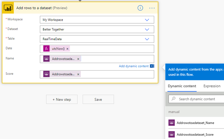 Better Together: Part 2 - Use The Power Platform to Create a Scoring App with a Live Dashboard