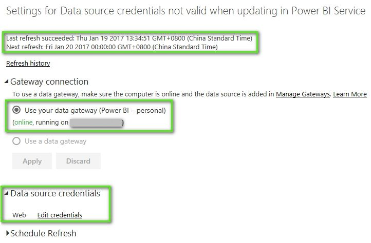 Data source credentials not valid when updating in Power BI Service_2.jpg