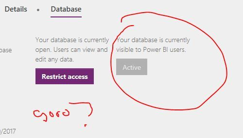 From PowerApps Admin Center 2/1