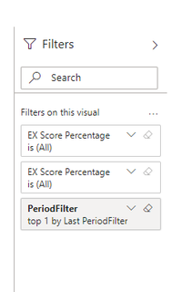 Filter pane in the Dashboard / tile focus mode (incorrect)