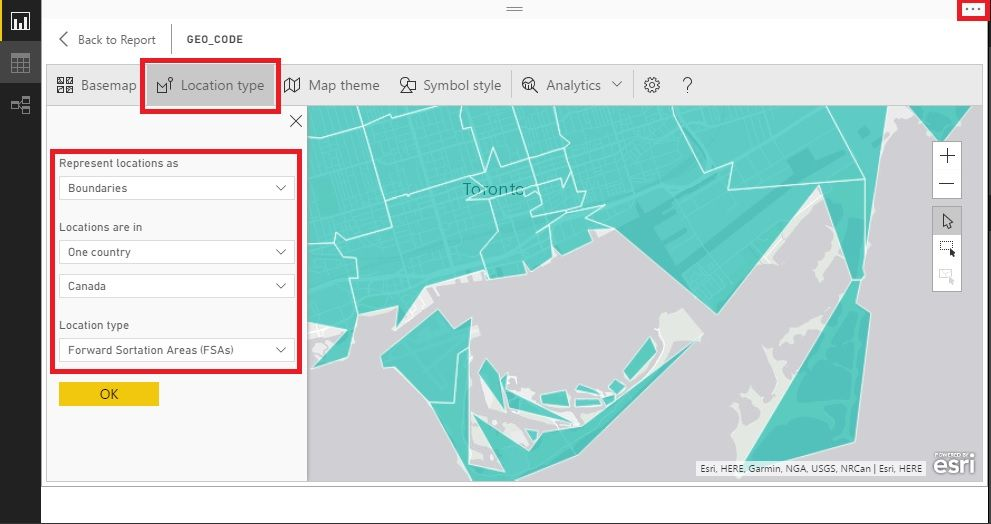 Using Canadian postal code (FSA) to make a filled map to show area boundaries 2.jpg