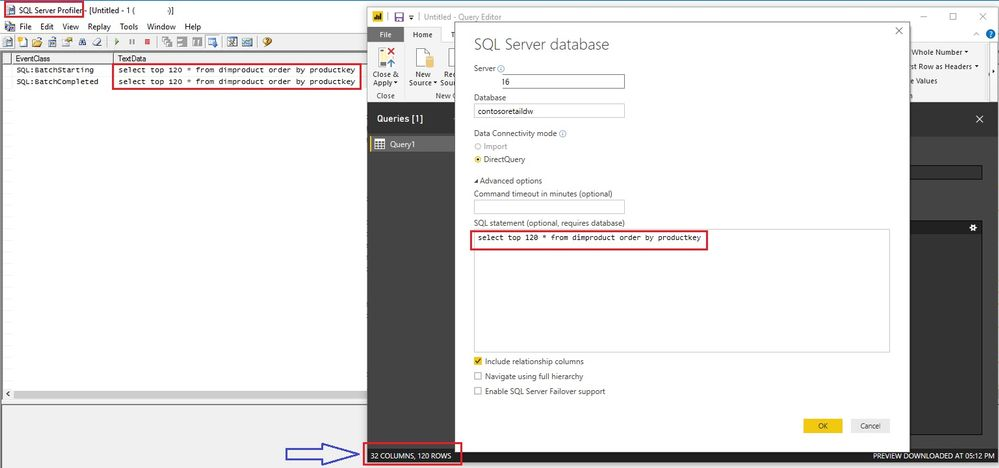 Power BI Top N does not push down SELECT TOP(N)... ORDER BY col to SQL Server level2.jpg