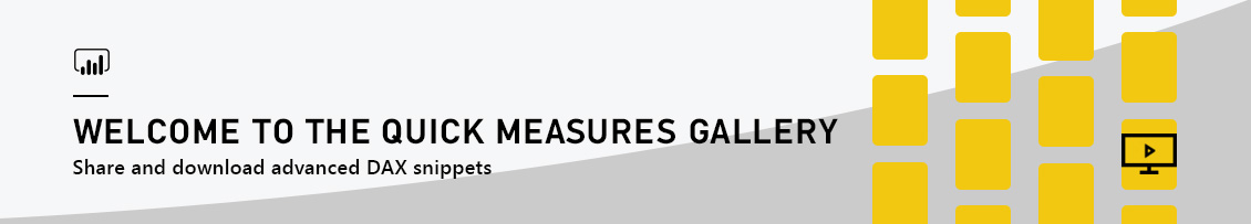 PowerBI QuickMeasuresGallery Banner Introducing the Quick Measures Gallery