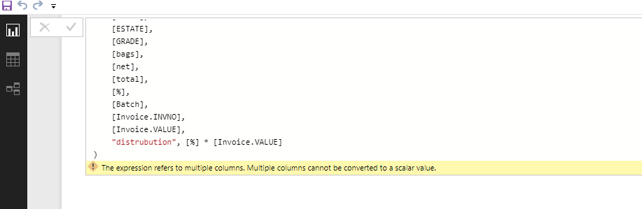 Solved Distributing Invoice Value Against Batch Microsoft Power - Invoice value