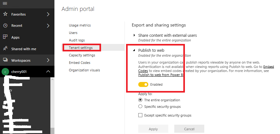 Publish on Web option is not showing on Power BI S    - Microsoft