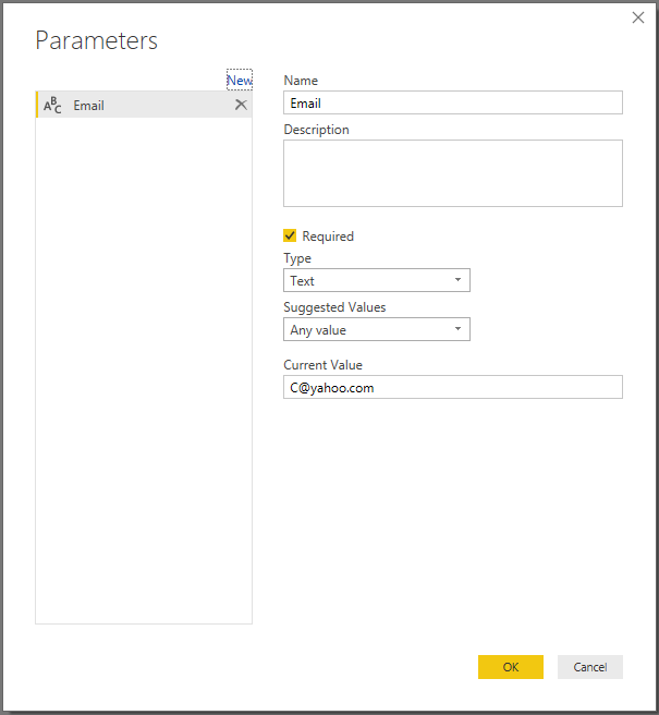 Solved: Input text option to enter user ID to display only