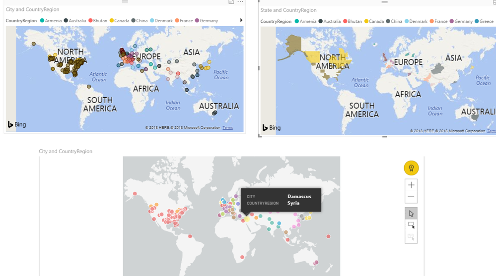 Solved: Map Visualization Not Working in power bi service ... on