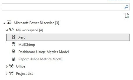 Solved: Accessing datasets of apps - Microsoft Power BI
