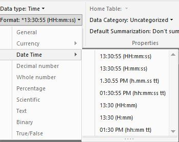 Solved: DateTime Conversion - Microsoft Power BI Community
