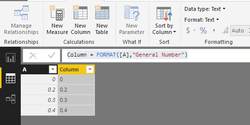 Solved: Error to convert a decimal column to text - Microsoft Power