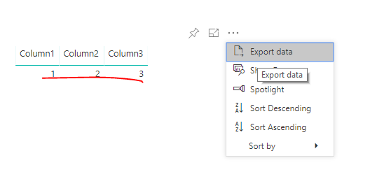 Solved: Help: Export all data table to excel - Microsoft Power BI