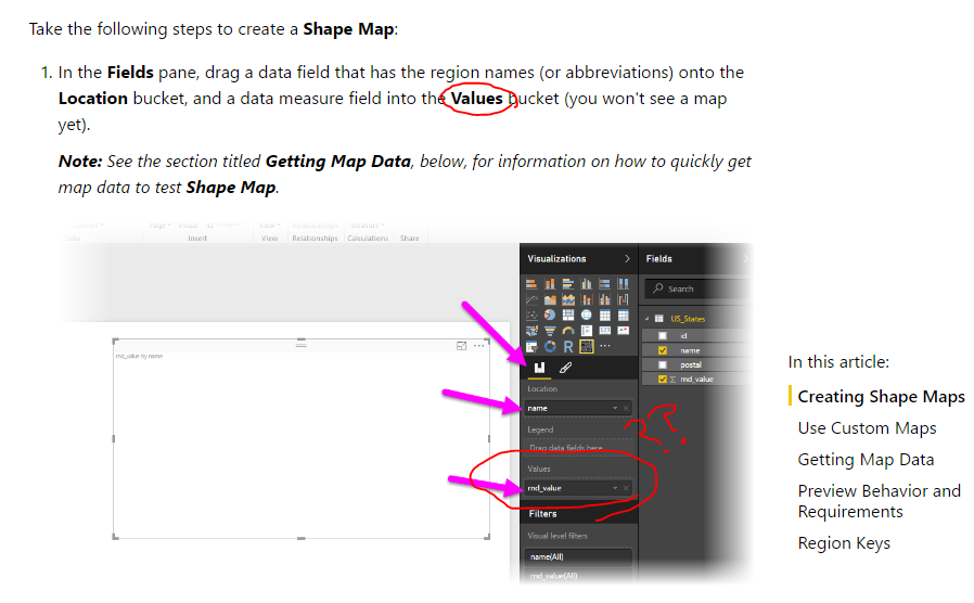 Solved: No Value field in Shape and Filled Maps - Microsoft ... on religion map, trade map, languages spoken map, gender map,