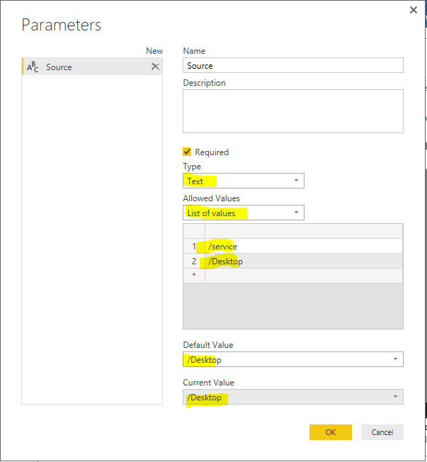 Solved: How to setting a dynamic URL connection - Microsoft Power BI