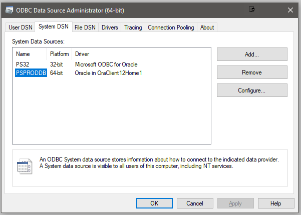 Cannot Connect to an Oracle Database   GOING INSAN