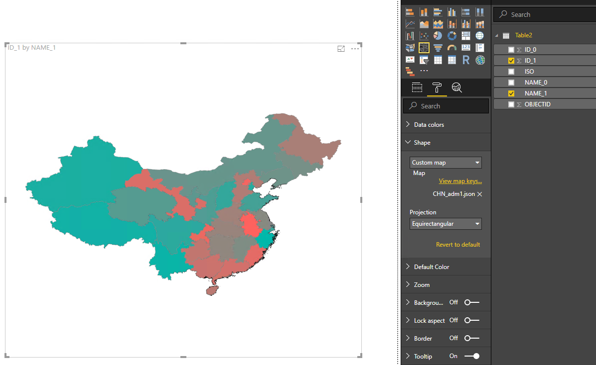Solved: how to successfully use Shape Map - Microsoft Power BI Community