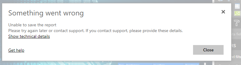 Error When click the save button.PNG